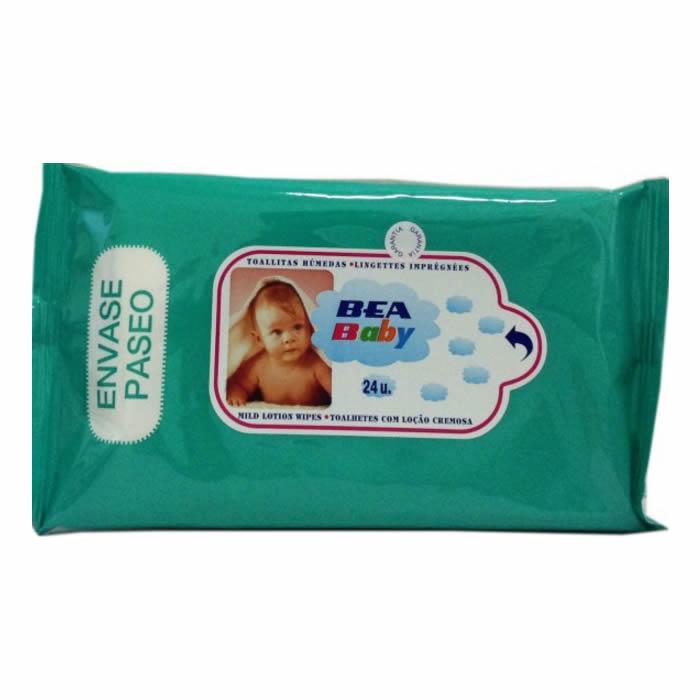 Lea Bea Baby Lingettes Pack 24 Unites