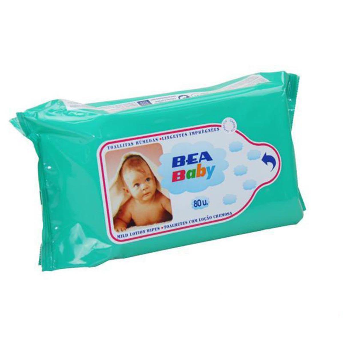 Lea Bea Baby Lingettes Pack 80 Unites